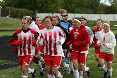 Girls Varsity Soccer - 2007-2008 - 5/21/2008 Big Rapids