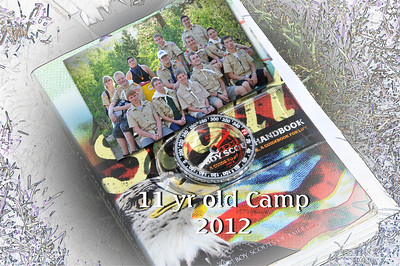 11 yr old Scout Camp