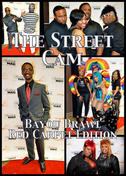 The Street Cam: Stylebrity Magazine's Bayou Brawl