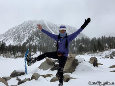 2020-03-26  Sherwin Lakes Snowshoe