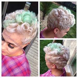 How about adding some pastel?    love it.  @hairbysarahann
