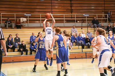 DHS Girls Basketball 02-15-2014
