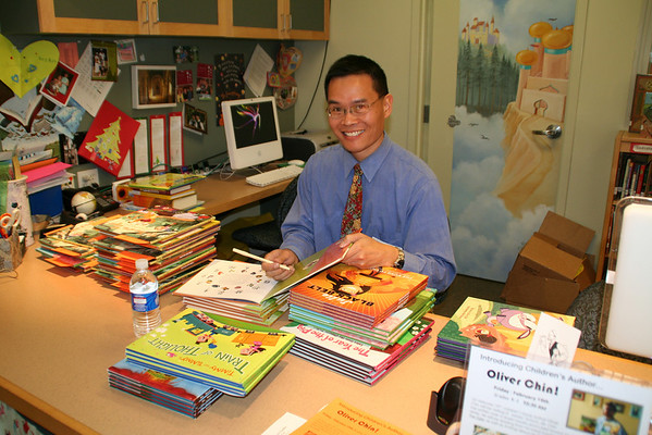 Oliver Chin Author Visit