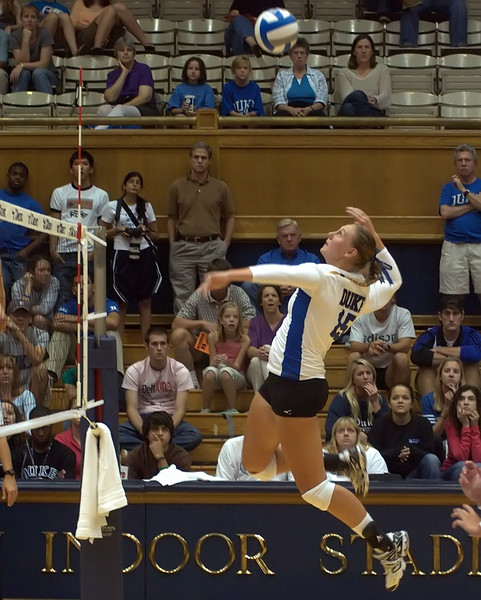 Duke Volleyball vs Maryland 2007