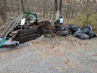 11.18.2017 Millers Run Cleanup Behind Melroy's Plumbing