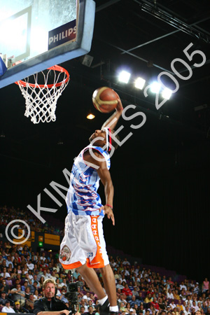NBL All Star Game  Dunk Competition 2005