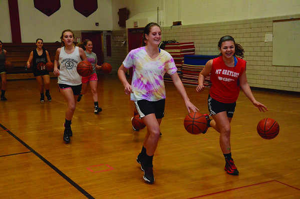 Mount Greylock Girls Basketball Practice