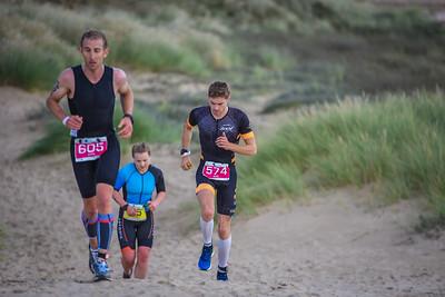 Superfeet Sandman Triathlon - Legend Run on Dunes before Beach