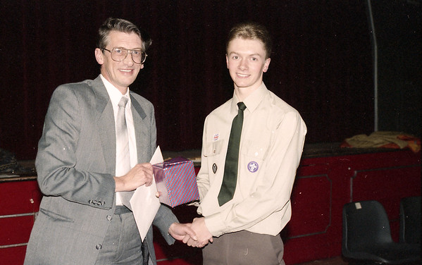 1992-06-03 Presentation to David Wood