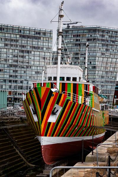 'Edmund Gardner' Dazzle Ship