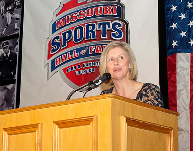 Missouri Sports Hall of Fame Induction of Mrs. Ellen Fusion Port