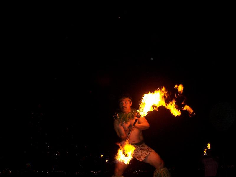 Burn baby burn, hula inferno.