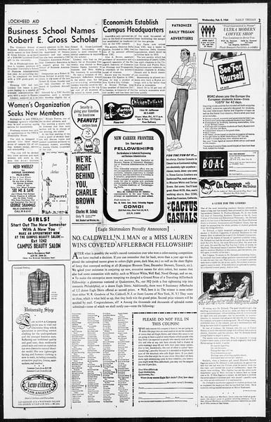 Daily Trojan, Vol. 55, No. ?, February 05, 1964