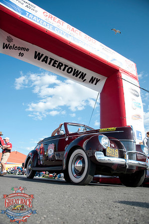 Great Race 2012--Day 5, Ottawa, Ontario to Watertown, New York