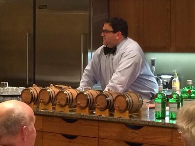 2015 Bourbon Barrel Cocktails Class