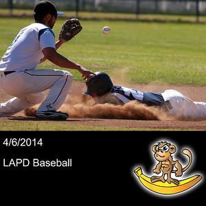 2014-04-06 LAPD Baseball