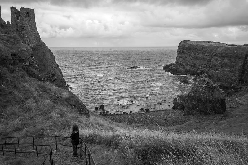 2013-08-09-Antrim-Coast-B-n-W