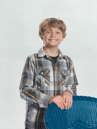 Jonah's Class Picture - 3rd Grade