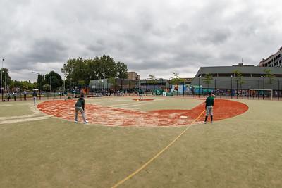 Opening straathonkbalveldje Crooswijk 'Urban Diamond' ( 28-06-2013)