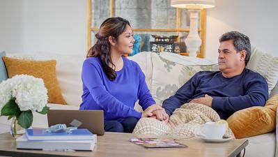 10-Home Dad Illness Living Room