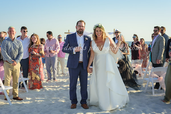 Mr. and Mrs. Quigley  |  The Opulent Pearl.  Panama City Beach.