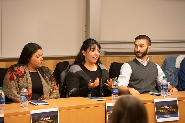 Emmanuel College: Career Center Business Panel Discussion 11/4/19
