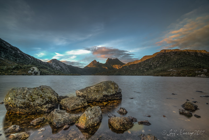 Sunrise at Cradle Mountain