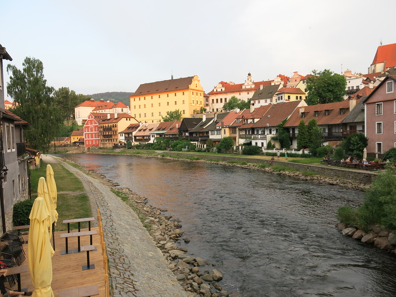 River Vltava @ Cesky Krumlov