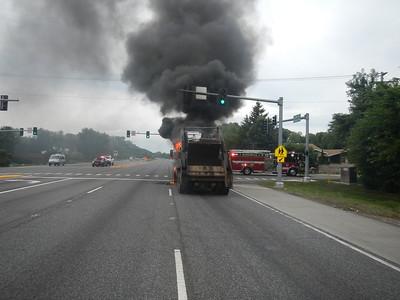 Bensenville truck fire 7-18-16