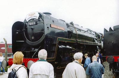 70013 Oliver Cromwell Preservation