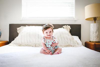 Elodie 6 Months Lifestyle 8.6.17