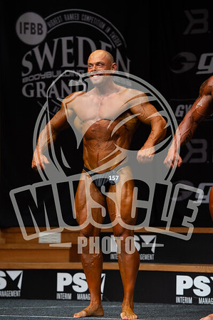 Master Men Bodybuilding over 40 years  open