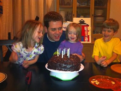 Jared's Birthdays