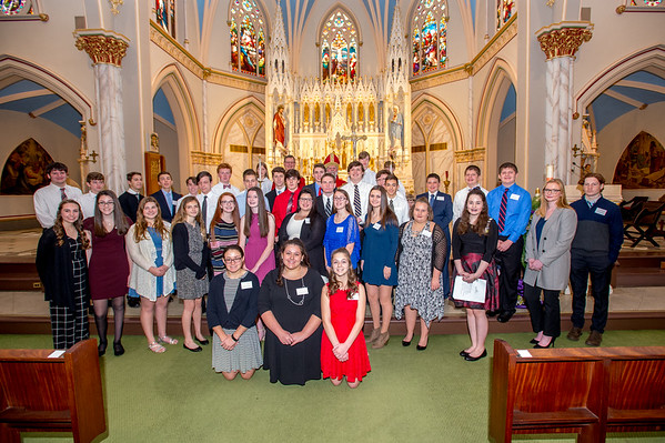 St. Joseph Confirmation 12-1-18