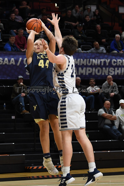 West Albany vs. Wilsonville Boys  High School Basketball
