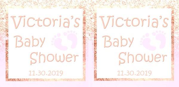 VICTORIA'S BABY SHOWER