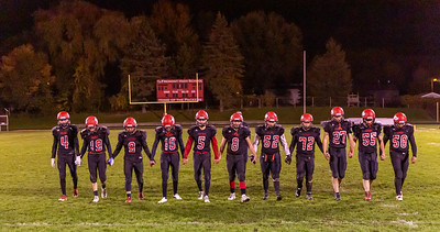 Boys Varsity Football - 10/18/2019 Chip Hills Parents Night