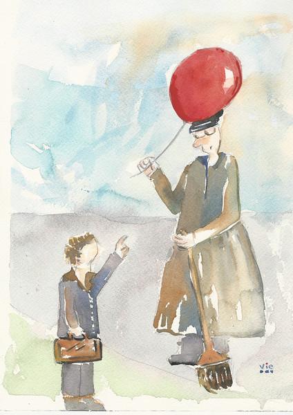 Le gardien du ballon rouge