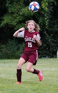 AMHS M.S. Girls Soccer vs Dorset photos by Gary Baker