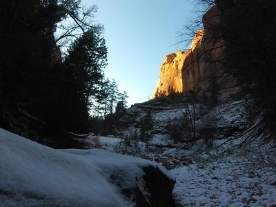 Kolob Canyons run
