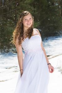 Snow Princess (Prom Dress)