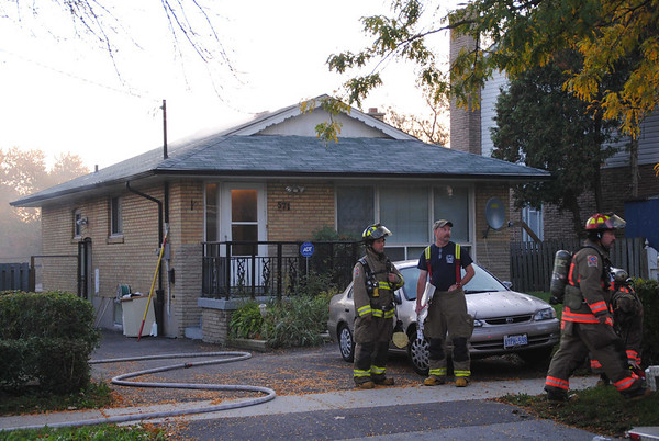 October 9, 2011 - Working Fire - 571 Bellamy Rd.