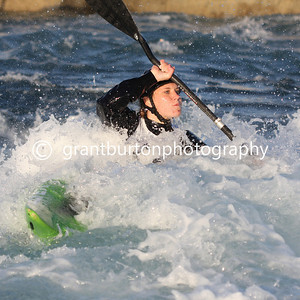 Final British Slalom Canoe Open 2013 - Women's Kayak WK1