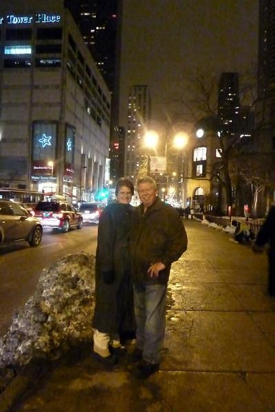 Joy & Me on Michigan Ave..jpg