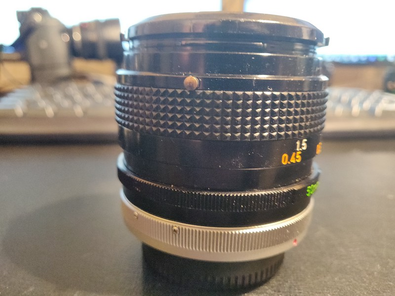 Canon FD 50 mm 1.4 S.S.C. - Serial R1116 & 1213570 004.jpg