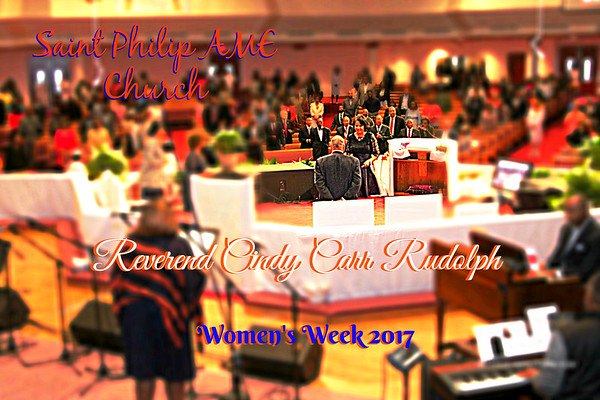 Womens Week 2017 with Rev Cindy Rudolph