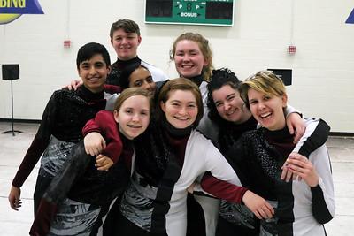 2019-02-18 RHS Indoor Drumline Practice (Josh Knutson)