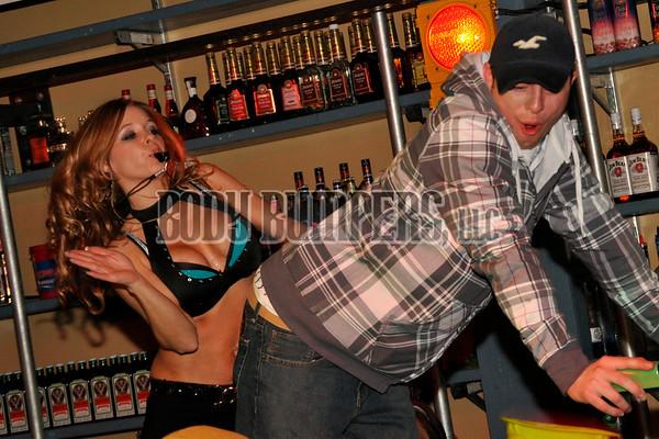 """Barber Chair Shots"" @ West Shore Hardware Bar - January 1, 2009 - Nikon D90 - Mark Teicher"