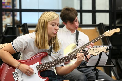 St. Pius X Guitar Program Shapes Student Musicians