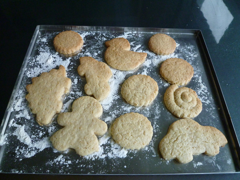 Perfect biscuits in about 10 minutes